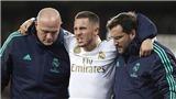 Eden Hazard lại chấn thương: Cứ như Kaka vừa ghé thăm Bernabeu