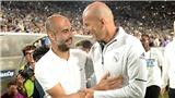 Trực tiếp bóng đá Real Madrid vs Man City: Zidane sẽ cho Guardiola một thân phận khác ở C1?