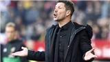 Atletico khủng hoảng: Simeone, các bàn thắng của Atletico đâu?