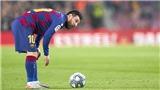 Thật may, Barca vẫn còn Messi!