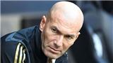 Real Madrid là mớ hỗn độn của Zidane