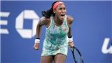 Tay vợt 15 tuổi Coco Gauff gây sốc với những bước nhảy vĩ đại