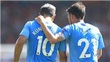 Man City: Aguero và David Silva là bộ đôi định hình 'Man xanh'