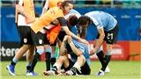 Copa America 2019: Uruguay bị loại và giọt nước mắt đớn đau của Luis Suarez