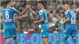 Napoli chưa thể chơi tấn công như Liverpool