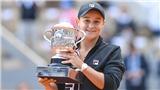 Barty vô địch đơn nữ Roland Garros 2019: Chiến thắng lớn nhất cho cô gái thấp nhất
