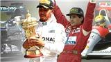 Đua xe Công thức 1: Hamilton vĩ đại như Ayrton Senna