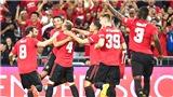 MU: Manchester United nhận hiệu ứng từ chiến thắng ở Singapore