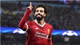 Man City vs Liverpool: Salah tiền đạo đã sẵn sàng soán ngôi của Messi và Ronaldo