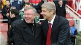 M.U gặp Arsenal trong nỗi nhớ Ferguson và Wenger