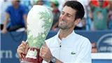 Djokovic đăng quang ở Cincinnati: Từ Golden Masters đến ứng viên US Open