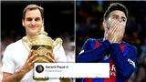 Pique và Federer xung đột vì World Cup quần vợt
