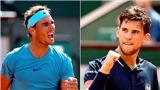 Tứ kết US Open: Rafael Nadal hội ngộ Dominic Thiem