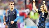 Griezmann hoặc Modric xứng đáng giành Bóng vàng nếu vô địch World Cup