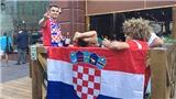 Những người Croatia khuấy đảo Moskva