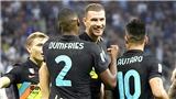 Inter thắng '6 sao': Tuyệt vời 'cơn lốc' Dumfries