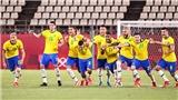 Bóng đá nam Olympic 2020: Brazil, Tây Ban Nha lết vào chung kết