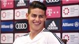 Tương lai James Rodriguez trong tay Bayern
