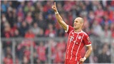 Arjen Robben: 33 tuổi vẫn chạy tốt
