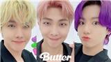'Cưng xỉu' màu tóc của các chàng trai BTS trong 'Butter': Jungkook tím ngắt