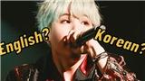 Suga BTS tiết lộ sự khác biệt lớn nhất giữa rap tiếng Anh và tiếng Hàn