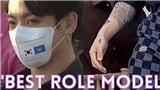 Jungkook BTS 'dám' để lộ hình xăm và khuyên mày ngay tại LHQ