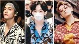 V BTS lại chứng tỏ là 'Vua' của những chiếc áo 'hoa hòe hoa sói'