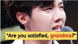 J-Hope khóc nức nở khi thấy cảnh một cụ già neo đơn, hành động của BTS khiến tim fan 'tan chảy'