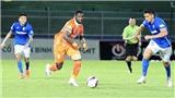 Video bàn thắng Bình Định 1-1 Than Quảng Ninh: Chia điểm đáng tiếc