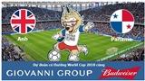 Dự đoán có thưởng World Cup 2018: Trận Anh – Panama