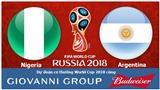 Dự đoán có thưởng World Cup 2018: Trận Nigeria – Argentina
