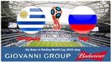 Dự đoán có thưởng World Cup 2018: Trận Uruguay – Nga