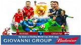 Dự đoán có thưởng World Cup 2018: Trận Nga – Croatia (Vòng tứ kết)