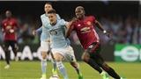 BIG BET: Dự đoán và tỉ lệ trận Man United - Celta Vigo (02h05, 12/5)