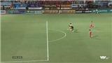 VIDEO Viettel - Hải Phòng: Fagan đột phá khiến thủ môn Quàng Thế Tài nhận thẻ đỏ