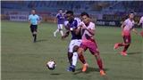 VIDEO Bàn thắng và highlights Hà Nội 2-0 Sài Gòn. Bảng xếp hạng V League vòng 13