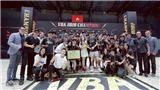 Saigon Heat đi vào lịch sử VBA khi bảo vệ thành công ngôi vô địch