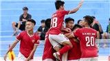 Tuyển thủ U22 Việt Nam báo tin mừng cho HLV Park Hang Seo