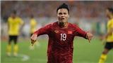 Quang Hải thay HLV Park Hang Seo nói chuyện khiêu khích của Malaysia