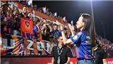Nữ tướng bóng đá Thái lập chiến tích cho đội nhà