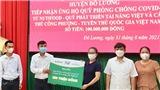 Công Phượng tiếp sức quê hương Nghệ An chống dịch