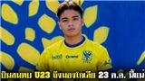 Đồng đội cũ Công Phượng lên tuyển U23 Thái Lan