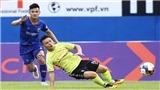 VIDEO Highlights và bàn thắng: Bình Dương 0-2 Hà Nội: Quang Hải mờ nhạt