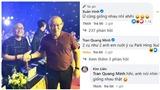 Nghệ sĩ Xuân Hinh đăng ảnh chụp cùng HLV Park Hang Seo, phản ứng của khán giả gây chú ý