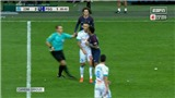 Neymar ghi bàn rồi bị đuổi vì 'thiết đầu công', PSG phải nhờ Cavani mới thoát thua trận