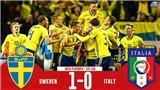 Thụy Điển 1-0 Italy: Thua bạc nhược lại mất Verratti ở lượt về, Azzurri lâm nguy