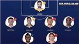 Sự thật về Đội hình xuất sắc nhất World Cup 2018 đang gây tranh cãi