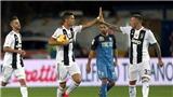 Empoli 1-2 Juventus: Ronaldo lập cú đúp giúp Juventus ngược dòng thành công