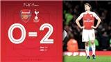 VIDEO Arsenal 0-2 Tottenham: Loại 'Pháo thủ', Tottenham gặp Chelsea ở bán kết Cúp Liên đoàn