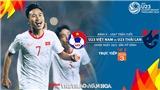 VTC3 VTV5 trực tiếp. Soi kèo U23 Việt Nam vs Thái Lan (20h00, 26/3). Kèo bóng đá